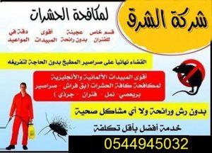 شركة تنظيف ومكافحة حشرات
